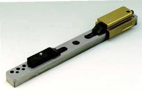 mechanical clamp / horizontal / aluminum