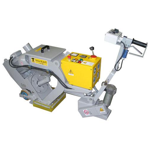 manual shot blasting machine / for concrete / mobile