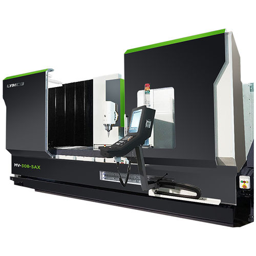 5-axis CNC machining center / vertical / traveling-column / rotating table MV-5AX LYMCO, BY LYWENTECH CO., LTD.