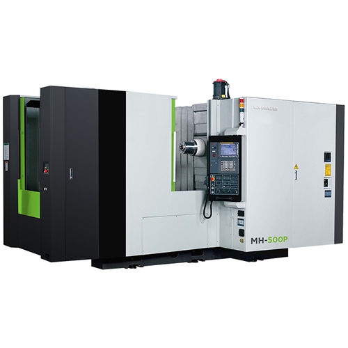 4-axis machining center / horizontal / rotating table / high-speed
