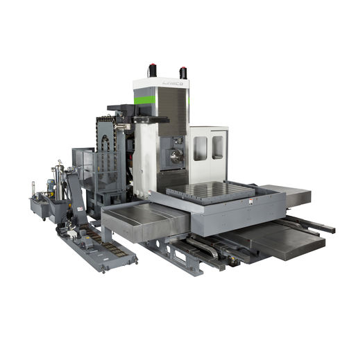 CNC boring machine / horizontal / 4-axis