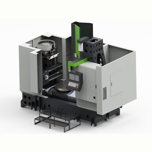 CNC milling-turning center / vertical