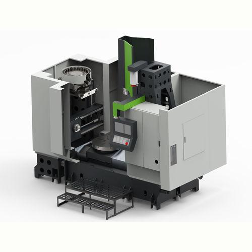 CNC milling-turning center / vertical VERTUM-800H LYMCO, BY LYWENTECH CO., LTD.
