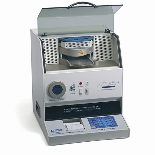 Water analyzer / for plastic film / permeability / benchtop Lyssy L80-5000 Systech Illinois
