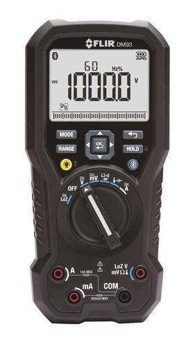 Digital multimeter / portable / true RMS / industrial FLIR DM93 FLIR SYSTEMS