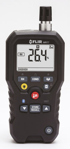 wood moisture meter / non-destructive / hand-held