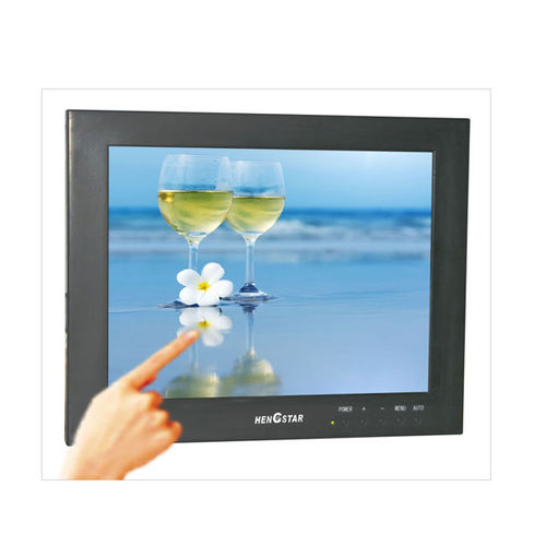 LCD monitor / resistive touch screen / 24