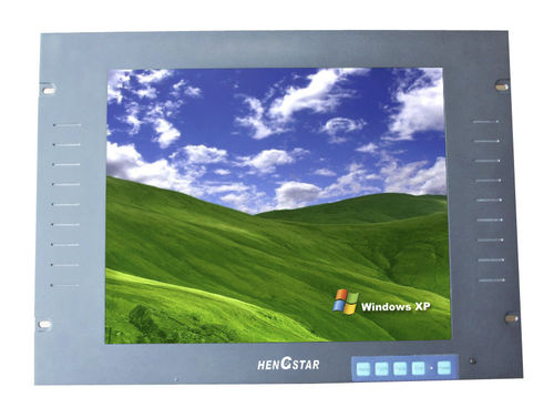 LCD/TFT monitor / 1280 x 1024 / rack-mount / vandal-proof