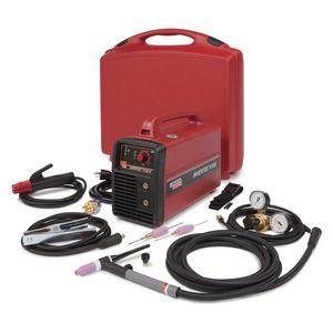 TIG welder / portable / inverter / single-phase