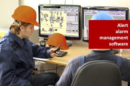 management software / monitoring / SCADA / alarm