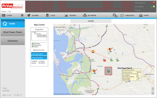 geographical data management software / cartography / mapping
