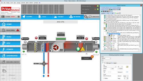 design software / HMI / interface / graphic