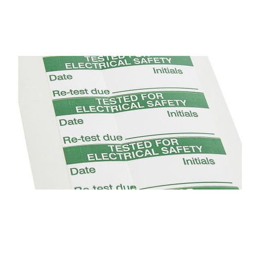 self-adhesive label / printed / vinyl / for medical devices