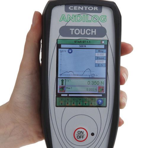 digital dynamometer / portable / tension/compression / rugged