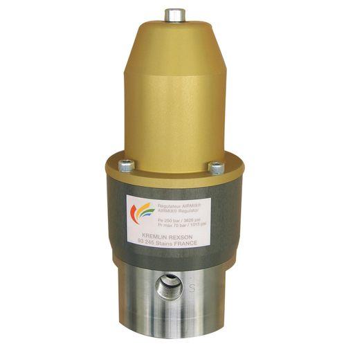 liquid flow regulator / precision / stainless steel / manual