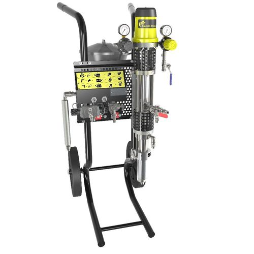chemical pump / normal priming / industrial / mobile