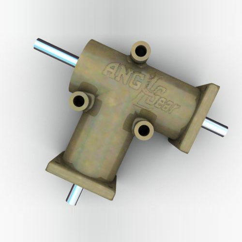 bevel angle gearbox / 90° / stainless steel