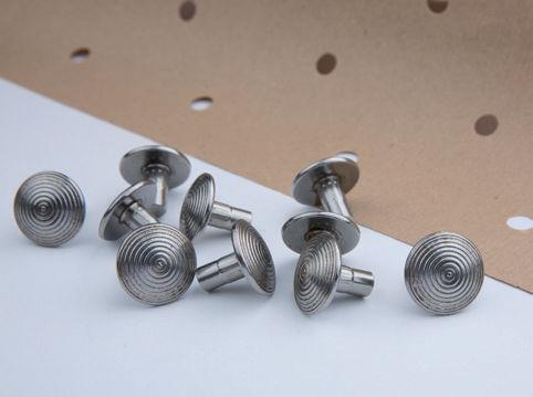 standard rivet / button head / stainless steel / steel