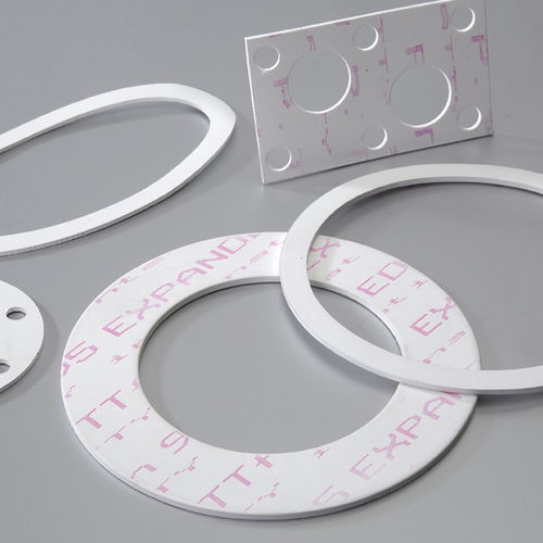 Expanded PTFE gasket sheet / for chemical applications