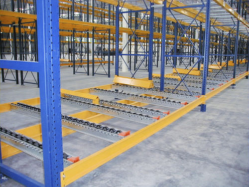 Pallet shelving / dynamic ISO9001, ISO14001 | UN-PS0801 Jiangsu Union Logistics System Engineering Co.,Ltd