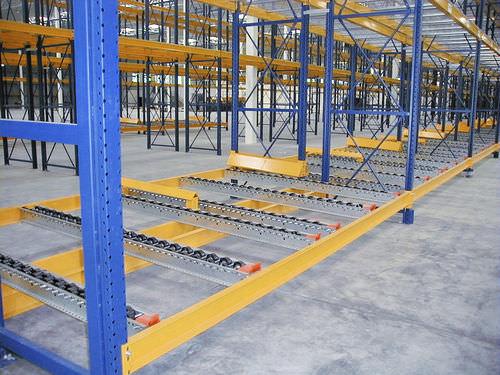 Flow storage shelving / pallet ISO9001, ISO14001 | UN-PS0801 Jiangsu Union Logistics System Engineering Co.,Ltd