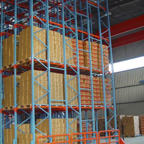 Pallet shelving / storage warehouse / for heavy loads / for empty and full cartons ISO9001, ISO14001 | UN-DR0802 Jiangsu Union Logistics System Engineering Co.,Ltd