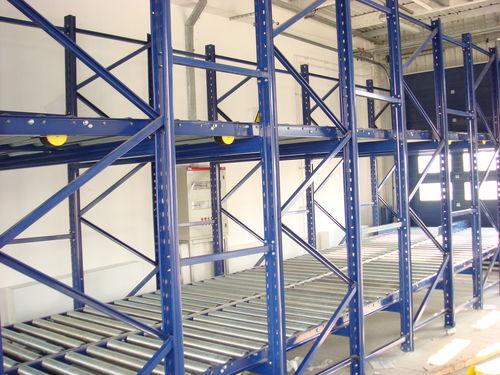 pallet shelving / for medium loads / lightweight / dynamic