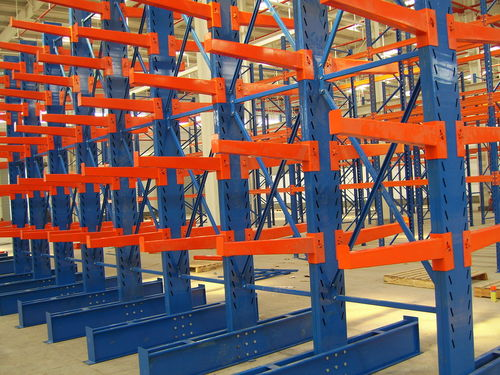 Cantilever shelving / for long items ISO9001, ISO14001 | UN-CR0804 Jiangsu Union Logistics System Engineering Co.,Ltd