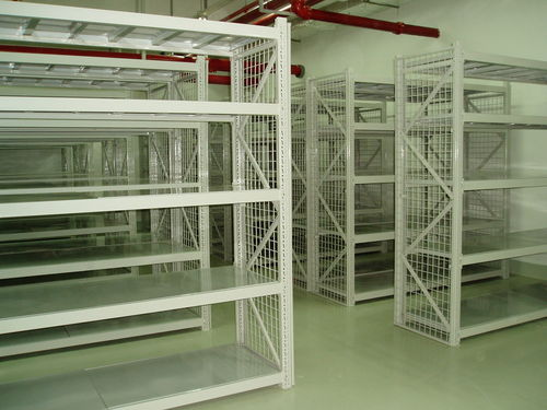 office shelving / light-duty / galvanized / for small parts