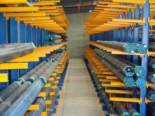 Storage warehouse shelving / cantilever / for long items / medium-duty ISO9001, ISO14001 | UN-CR0805 Jiangsu Union Logistics System Engineering Co.,Ltd
