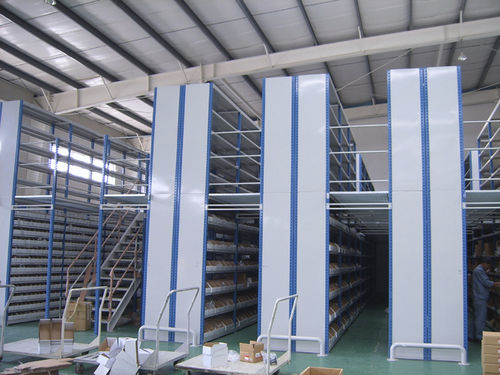Industrial mezzanine with racking system ISO9001, ISO14001 | UN-MP0806 Jiangsu Union Logistics System Engineering Co.,Ltd