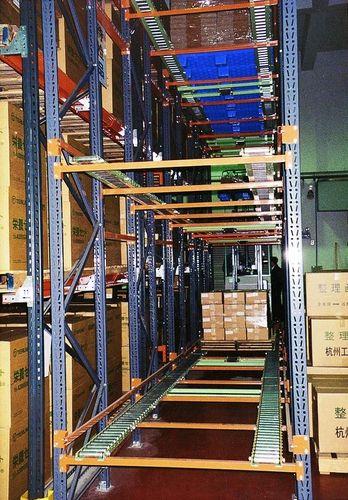 pallet shelving / for medium loads / dynamic