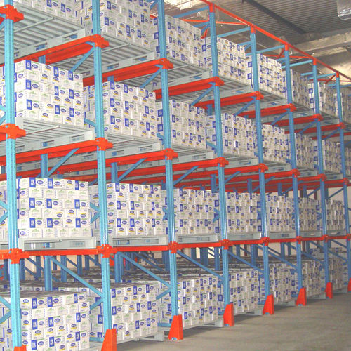 Pallet shelving / storage warehouse / for heavy loads / medium-duty ISO9001, ISO14001 | UN-DR0807 Jiangsu Union Logistics System Engineering Co.,Ltd