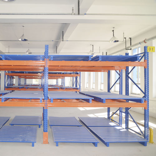 Pallet rack system / for heavy loads / adjustable ISO9001, ISO14001 | UN-PR0801 Jiangsu Union Logistics System Engineering Co.,Ltd