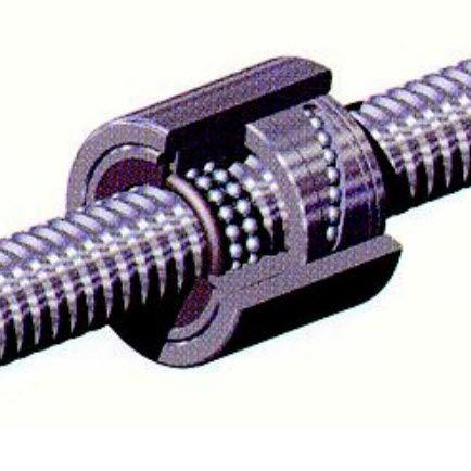 stainless steel ball screw / precision / ground / miniature