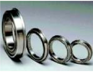 ball bearing / radial / thin-section / stainless steel