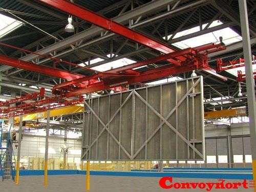 single-girder overhead traveling crane / hanging