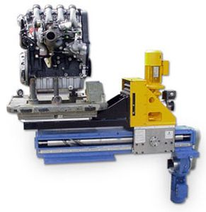 Linear manipulator / combined motion / handling Sopamat®. SOPAP AUTOMATION