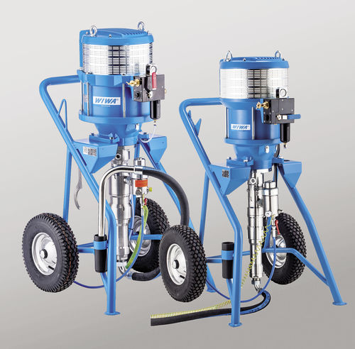 paint pump / for epoxy / for polyurethane / pneumatic