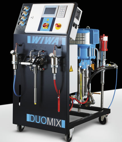 Paint spray unit / gelcoat / resin / pneumatic DUOMIX 270 WIWA