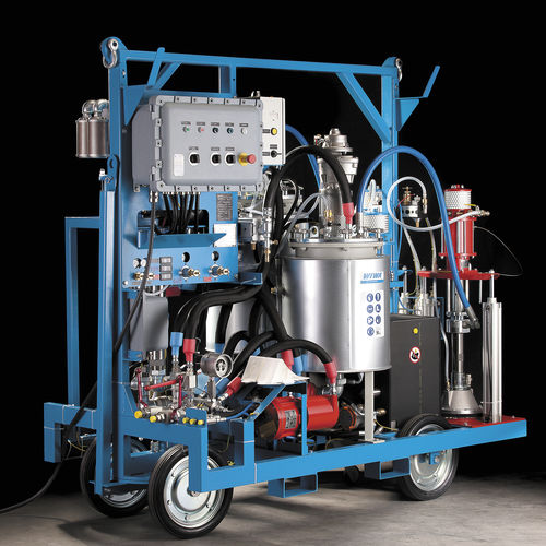 Two-component paint spray unit / pneumatic / airless / high-pressure DUOMIX 333 PFP -Zone 1- WIWA