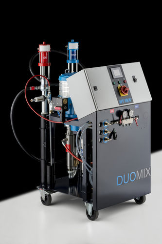 Polyurethane spray unit / pneumatic / airless / high-pressure DUOMIX PU 540 WIWA