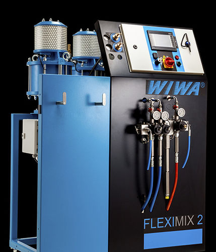 High-viscosity media dispensing system / volumetric / multi-component FLEXIMIX II PROFESSIONAL WIWA