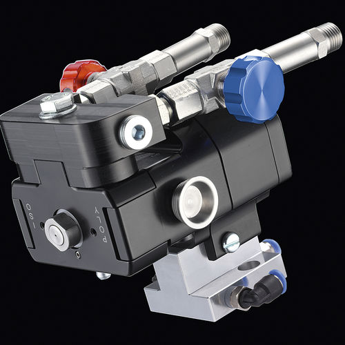 spray gun / polyurethane foam / automatic / pneumatic