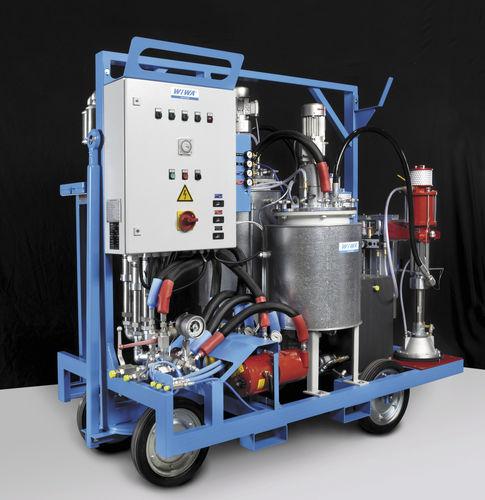 Automatic coating system / high-precision WIWA DUOMIX 333 PFP WIWA