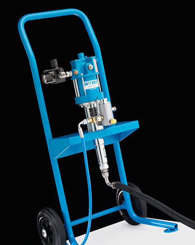 mono-component paint spray unit / high-pressure / airless