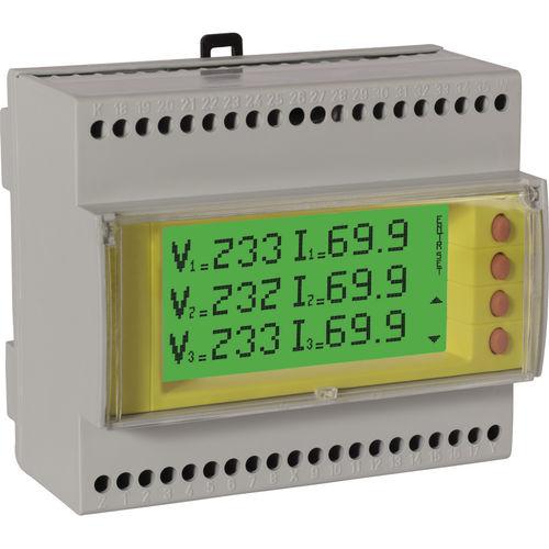 electrical network analyzer / power quality / for integration / digital