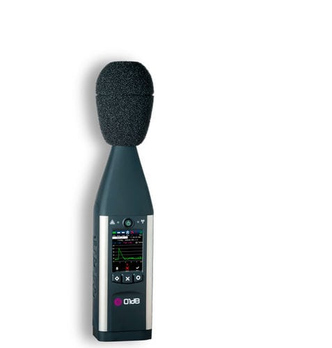 sound level meter with analysis function / class 1 / data logging / real-time