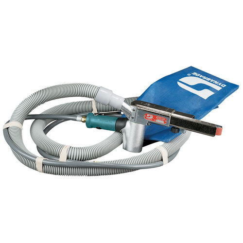 pneumatic sander / belt / for wood / with vacuum cleaner
