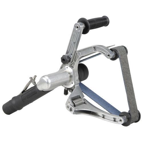 pneumatic sander / belt / for tubes